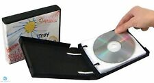 10 CD DVD Unikeep Wallets / Sleeves White with Flap and Pocket holds 2 Discs NEW