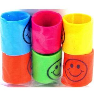 12-Slinky-Mini-Springs-Pinata-Party-Sac-Remplisseurs-Mariage-Enfants-Jouet-W6W7