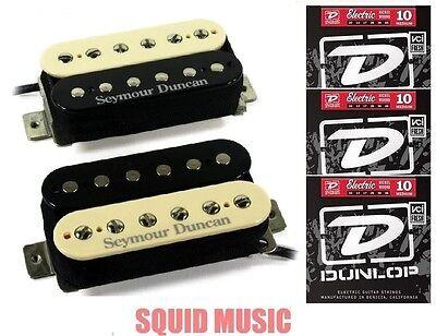 Seymour Duncan SH-4 JB /& SH-2n Jazz Hot Rodded Humbucker Black Set 3 SETS