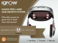 iGrow Hands Free Laser LED Light Therapy Hair Regrowth Rejuvenation Recertified.
