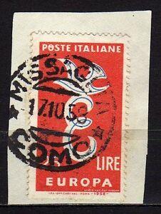 2131-Repubblica-25-lire-Europa-unita-su-frammento-1958-Varieta-Peste