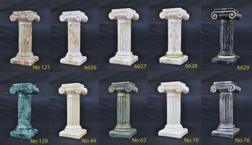 Medusa Säule Römische Säulen Marmor Skulptur Figur Deko Dekoration Ständer 1638