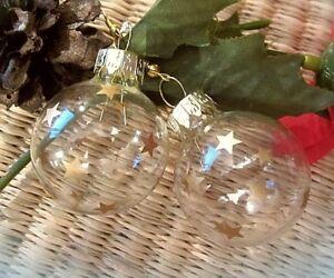 ltd-edit-christbaumkugel-weihnachtsohrringe-glas-goldene-sterne-3cm