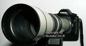 Profi-Tele-Zoom-650-1300mm-fue-Olympus-E-300-400-410-510-610-620-330-500-420-usw