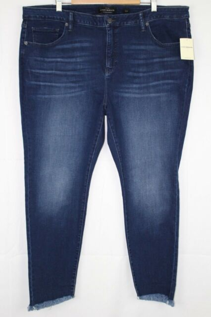8de5d9445ec New Lucky Brand Women s Lolita Skinny Plus Size 24w Maderia Stretch    7Q13326
