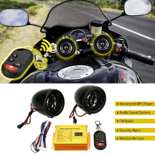 6306 Motorrad Audio Motorrad MP3 Player 12V Mit Fernbedienung Wasserdicht