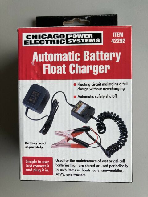 12 Volt Car Battery Charger Maintainer Automatic Float Trickle Centech 42292 For Sale Online Ebay