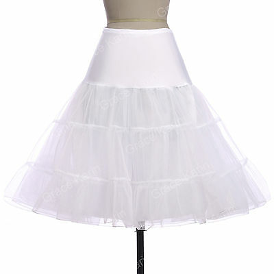 Retro Underskirt 50s 60s Swing Vintage Petticoat Fancy Net Skirt Rockabilly Tutu