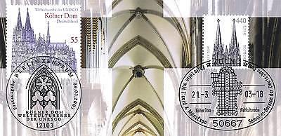 Hingebungsvoll Brd 2001 + 2003: Kölner Dom Nr 2206+2329 Mit Kölner + Berliner Stempel! 1a! 1705 Geeignet FüR MäNner Und Frauen Aller Altersgruppen In Allen Jahreszeiten