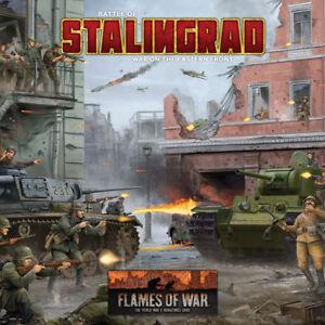 Flames of War Entièrement neuf dans sa boîte Stalingrad 2 Player Starter Set FWBX08  </span>