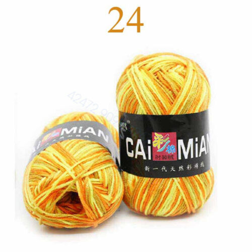 50g Acrylic Baby Craft Pack of soft Crochet 10 Balls Wool Knitting Yarn Sweater