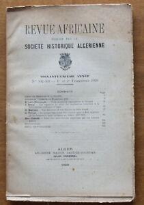 1920-Revue-Africaine-Societe-Historique-Algerienne-N-302-303