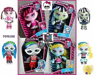 Monster-High-Doll-PLUSH-Stuffed-Animal-10-034-BFF-039-s-Cute-Soft-Toy-Freaky-amp-Fabulous