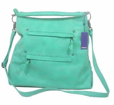 MEXX Handtasche Schultertasche Tasche grün 717