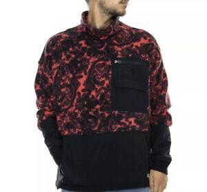 The-North-Face-94-RAGE-Red-Fleece-Pullover-Men-039-s-Medium-NWOT