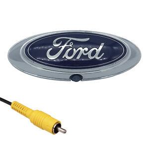 Ford-Chrome-Emblem-Backup-Camera-Tailgate-F150-F250-F350-2004-2014-Logo