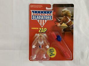 Vintage American Gladiators  Zap Action Figure 1991 MOC MATTEL