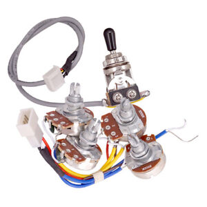 Details about Electric Guitar Accs Circuit Wiring Kit A500K B500K Pots on switchcraft 3-way toggle pick up diagram, clarion car stereo wiring diagram, 3-way toggle valve, 3-way automotive toggle switch, 3 way solenoid valve wiring diagram, 3-way light wiring diagram, 2-way toggle switch diagram, three toggle switch wire diagram, 3-way switch wiring variations, texas chopper wiring diagram, 3 way circuit diagram, furnace blower wiring diagram, fender telecaster 3-way wiring diagram, 4 wire trailer wiring diagram, 3-way switch wiring options, 6 prong toggle switch diagram, clarion 16 pin wiring diagram, 3 prong switch diagram, 3-way plug wiring diagram,