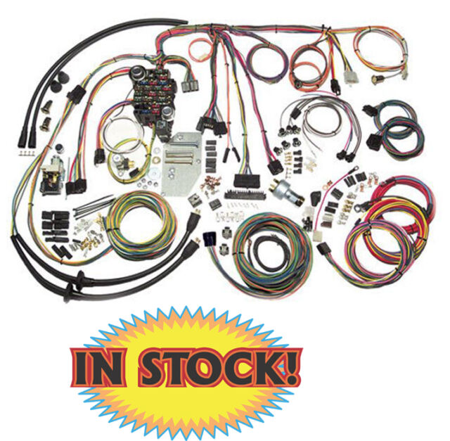 1955 1956 chevy wire harness kit complete american autowire 500423 Daewoo Wire Harness american autowire 500423 1955 56 chevy passenger car classic update wiring kit