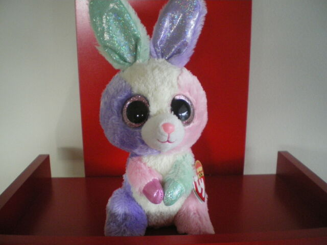 84682a9a9af Ty Beanie Boos BLOOM the rabbit 6 inch NWMT.BRAND NEW. GREAT EASTER PRESENT