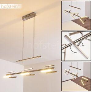 Lampe-a-suspension-LED-Lustre-Plafonnier-Lampe-pendante-Lampe-de-corridor-Chrome