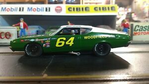 #64 Elmo Langley Woodside Ford 1969 1/32nd Scale Custom Built Slot Car NIB NEW