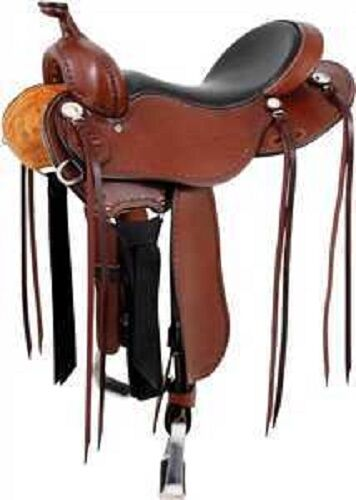 CASHEL WESTERN LIGHT WEIGHT TRAIL SADDLE  15 , 16  AND 17