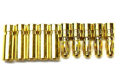 Glorioso C0251 Rc Connettore 2.5mm Maschio Placcato Oro E Pallottola Banana X Donna Set 5-mostra Il Titolo Originale