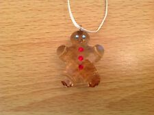 Swarovski Christmas Ornament Georgie The Gingerbread Man 872198