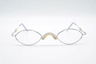 Consegna Veloce Vintage Italia Design 4098 47 [] 26 140 Argento/colorato Ovale Occhiali Eyeglasses Nos-mostra Il Titolo Originale