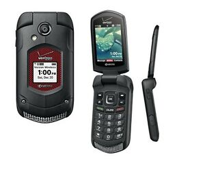 Image Is Loading Kyocera DuraXV Dura XV E4520 Flip Black Verizon