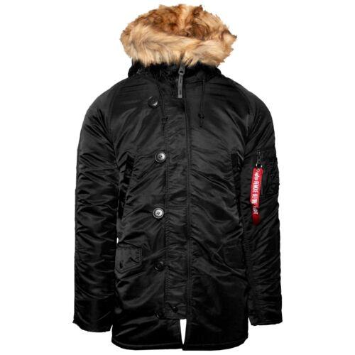 Alpha Industries n3b vf 59 Men invierno chaqueta cazadora Chaqueta aviador 103141-03