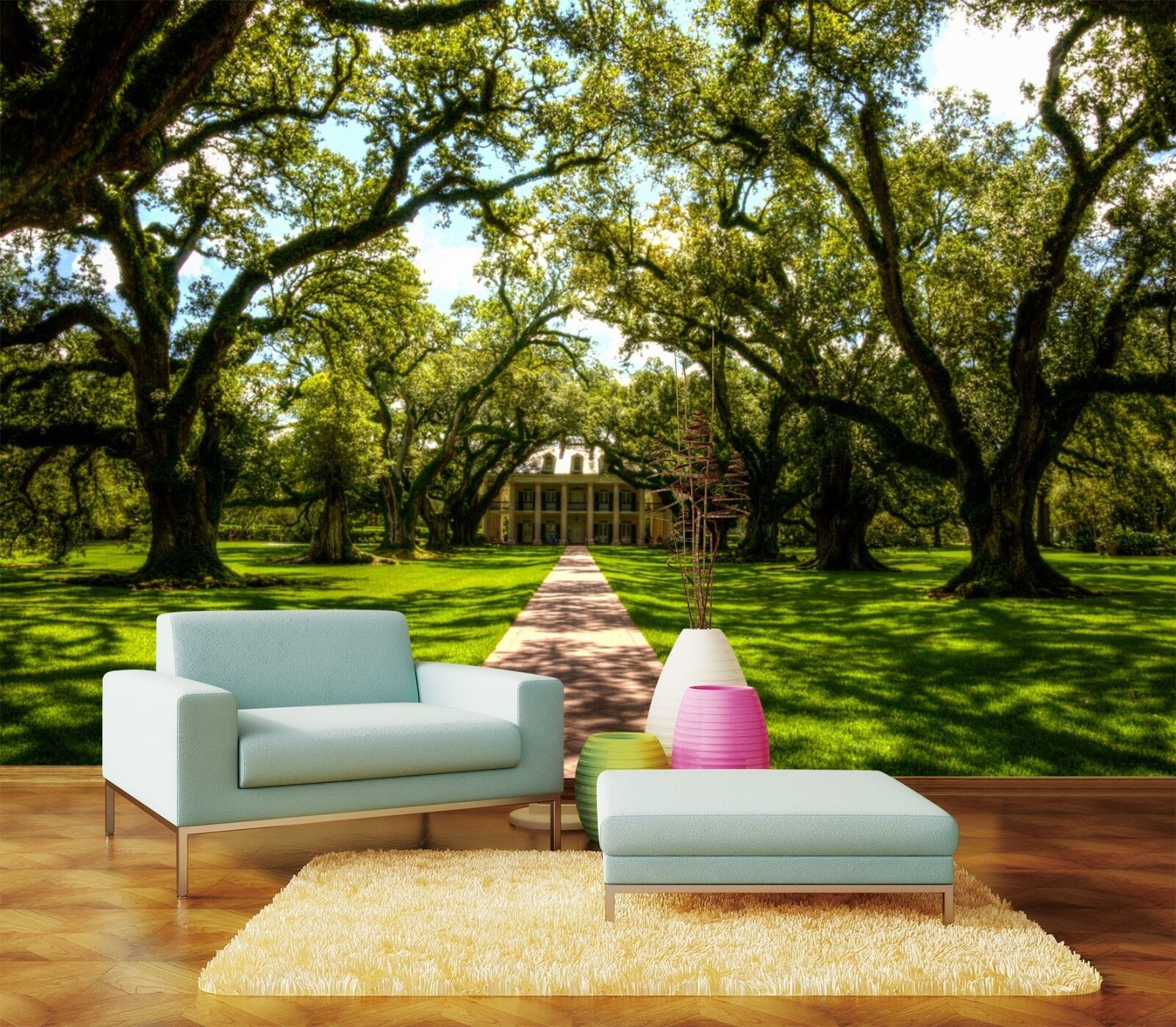 3D Wald Rasen Natürlich 933 Tapete Wandgemälde Tapeten Bild Familie DE Lemon | Clever und praktisch  | Toy Story  | Qualität und Verbraucher an erster Stelle