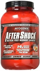 After Shock Tactical Post Workout Catalyst Orange Avalanche 2.64 lbs