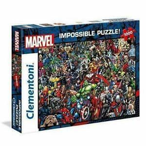 Clementoni 1000 Piece Jigsaw Puzzle Marvel Impossible 39411
