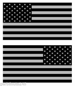 850e6bded526 Subdued American Flag sticker decal 3