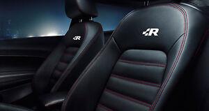 Details About 6x R Line Vw Racing Aufkleber Emblem Für Sitze Touareg Golf Gti Jetta Passat