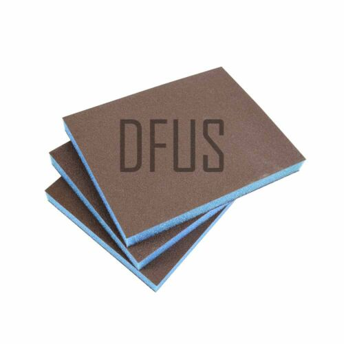 ANY QUANTITY Double sided foam backed sanding pad 180 or 220 grit