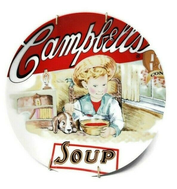 2003 Campbell Heritage Collection Boy & Dog Vintage Soup