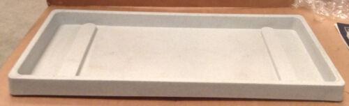 OFFERTA SOTTOVASO RETTANGOLARE est.70x32 cm color Pietra cemento in Resina