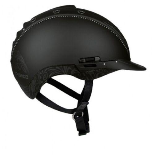 Casco Riding Helmet MISTRAL 2 Black Floral Size M-L 58-60 cm
