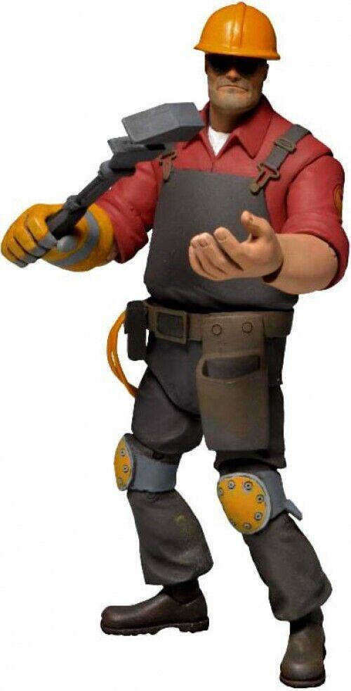 Neca Team Fortress 2 Rojo Serie 3 figura de acción el ingeniero