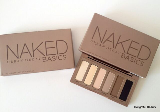 Urban Decay NAKED BASICS Eyeshadow Palette 6 Matte Shades ~ AUTHENTIC