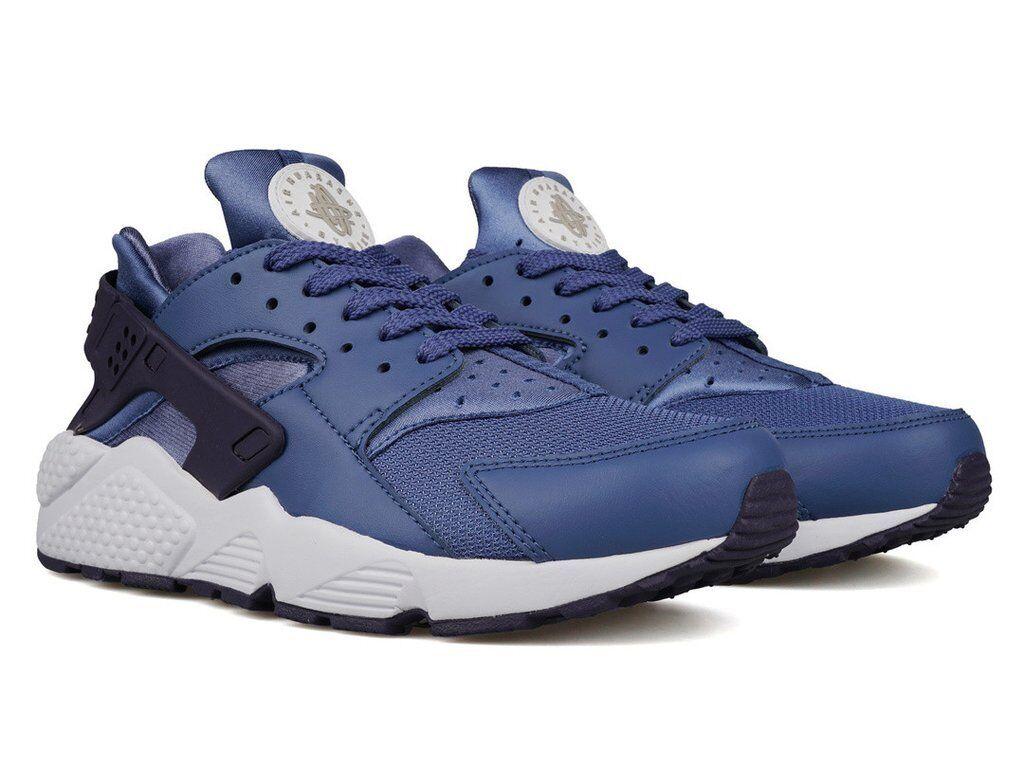 Nike Air Huarache Hommes Running Chaussures Bleu Moon Pale Gris 318429 414