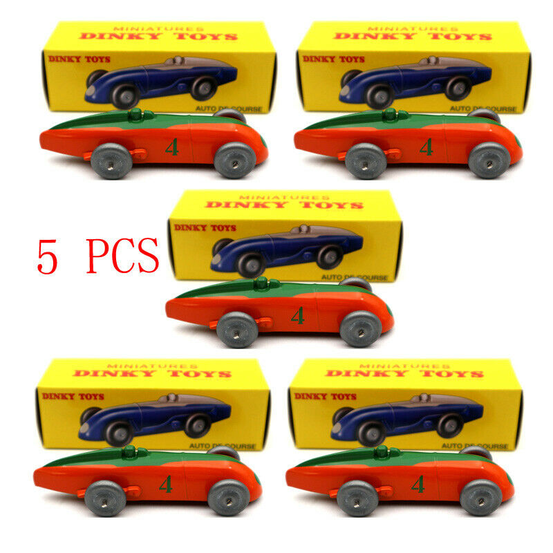 Set of 5 pcs Atlas Dinky Toys 23A AUTO DE COURSE  4 Cars Models Diecast 1 43