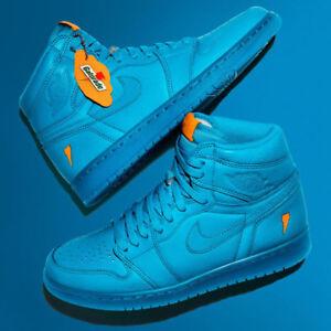 dfada30aff07b2 Nike Air Jordan Retro 1 HI OG Gatorade Blue Lagoon HIGH AJ5997-455 ...
