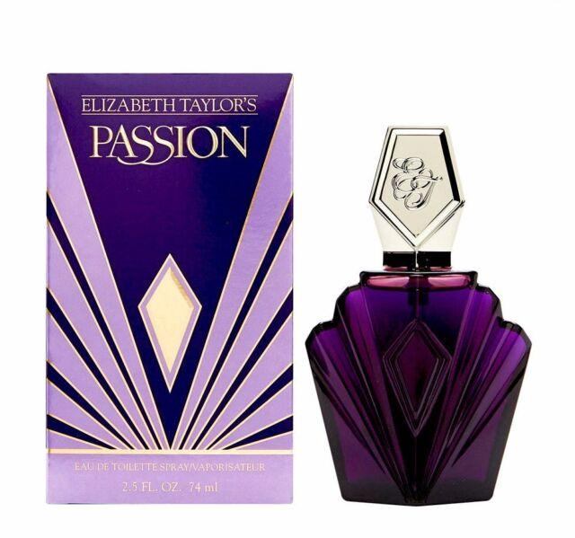 Elizabeth Taylor Passion Fragrance for Women 74ml EDT Spray