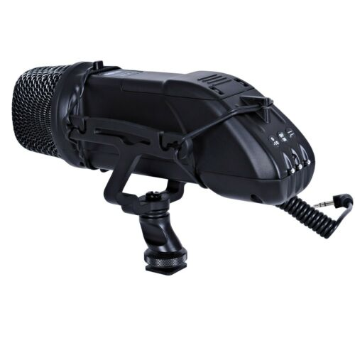 Movo VXR500 Professional Condenser X//Y Stereo Video Microphone for DSLR Cameras