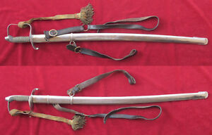 KINGDOM-OF-HUNGARY-SABER-SABRE-SWORD-INFANTRY-OFFICER-ARMY-MILITARY-M1861-MODEL