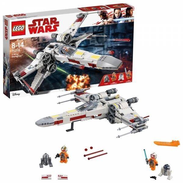 LEGO STAR WARS 75218 X-WING XWING STARFIGHTER STAR FIGHTER NEU